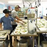 Students volunteer at the Washington and Lee Campus Kitchen.