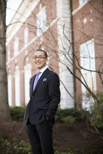 Harvard Business School Associate Professor Nien-he Hsieh (Stephanie Mitchell/Harvard Staff Photographer)