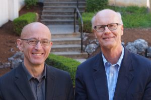 David Millon and Lyman Johnson