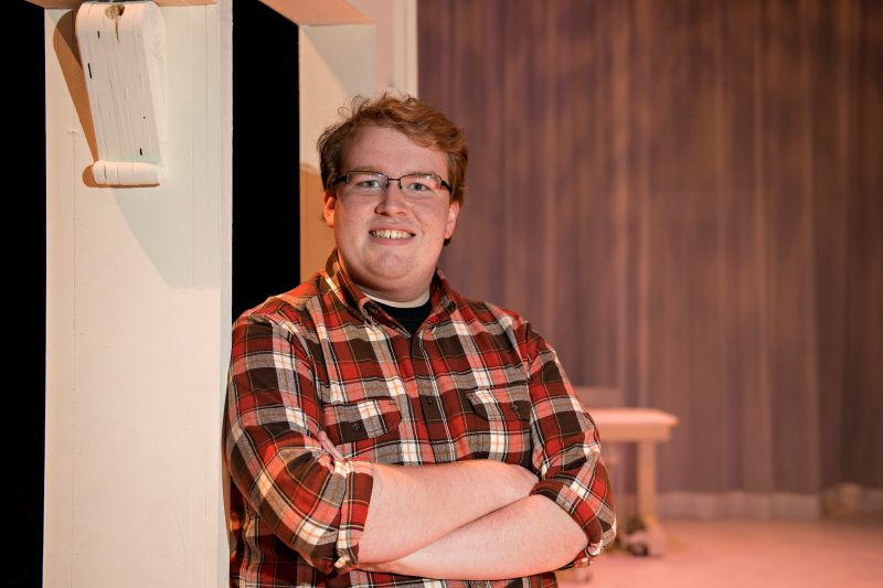 "Matt Reichel plays Edward in W&L's upcoming production of ""Sense and Sensibility."""
