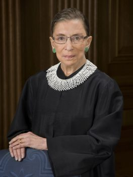 Ruth_Bader_Ginsburg_official_SCOTUS_portrait-264x350 Justice Ginsburg to Speak at VMI, W&L Feb. 1