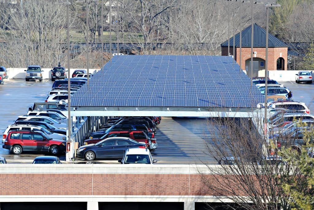 SolarPanels W&L Ranked in Top 100 Schools Nationally for Use of Renewable Electricity