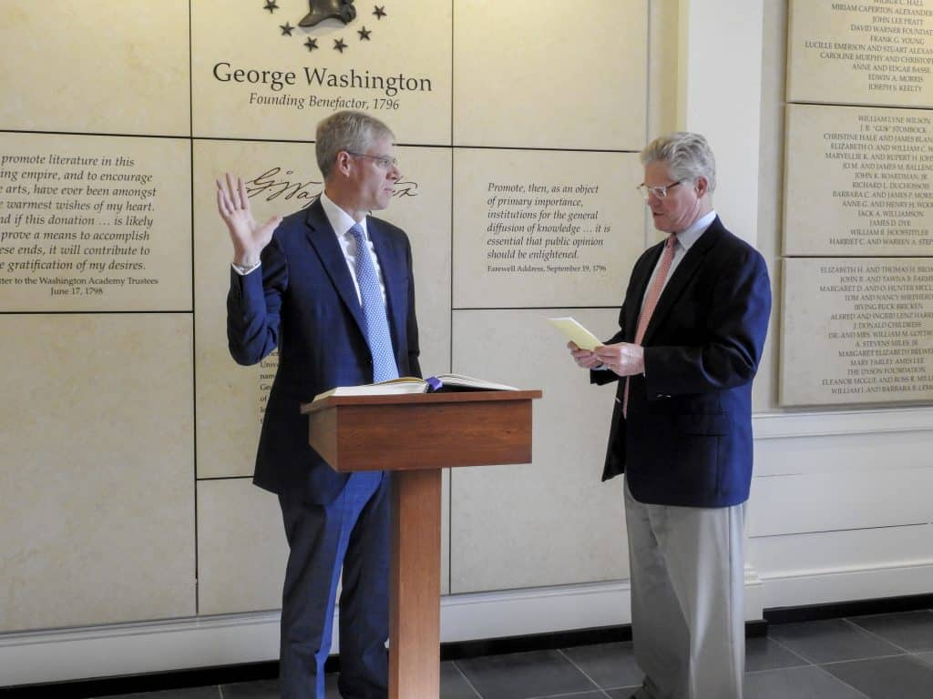 WillDudley-Oath2-1024x768 Welcoming Will Dudley, W&L's 27th President