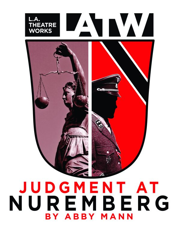 "LA_NUREMBERG-LATW_logo_stripe-593x768 L.A. Theatre Works ""Judgment at Nuremberg"" presented by Lenfest Center for the Arts and W&L Class of '64"