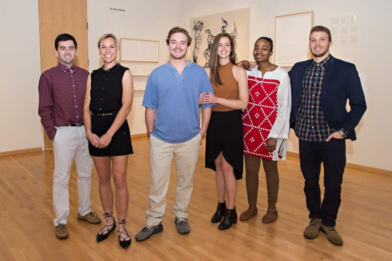 senior-artists-800x533 W&L Senior Art Show on Exhibit at Staniar Gallery