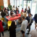 A Taste of Asia in the Center for Global Learning during Parents and Family Weekend