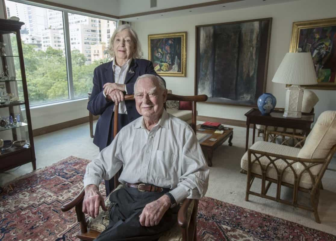 Lenfests-Carnegie-Medal Gerry and Marguerite Lenfest Receive the Carnegie Medal of Philanthropy
