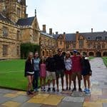 SISAP students at the University of Sydney