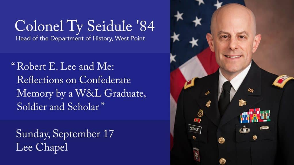 ty-seidule-1024x576 Colonel Ty Seidule To Give Constitution Day Lecture September 17