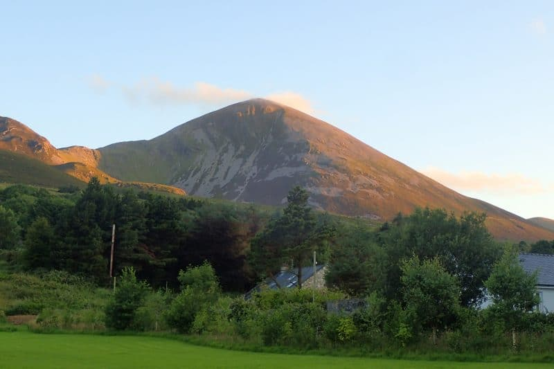 Croagh-Patrick-at-sunset-800x533 'Grateful Every Step of the Way'