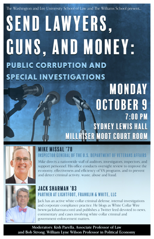 Missal_Sharman-497x768 W&L Alums Missal and Sharman Discuss Public Corruption and Special Investigations