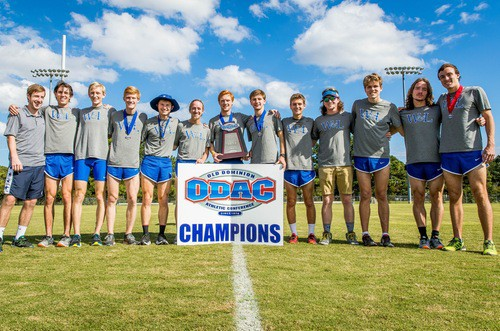 Men_XC_Team_Champ W&L Men's Cross Country Claims Third Consecutive ODAC Championship