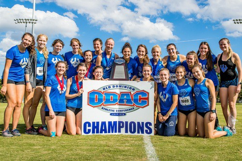 Women_XC_Team_Champ W&L Women's Cross Country Wins Third Straight ODAC Title