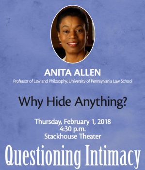 Anita-Allen-299x350 W&L Continues Questioning Intimacy Series with Privacy Lecture by Anita Allen
