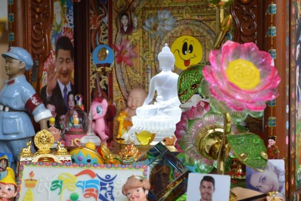 shrine-3.jpg-600x400 Interactive Exhibition by Tibetan Artist Gonkar Gyatso Opens at W&L's Staniar Gallery