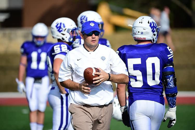 DSC_9399 W&L Names Garrett LeRose '07 Head Football Coach