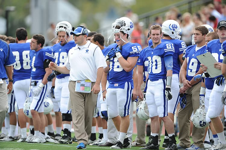 ELY_6866 W&L Names Garrett LeRose '07 Head Football Coach
