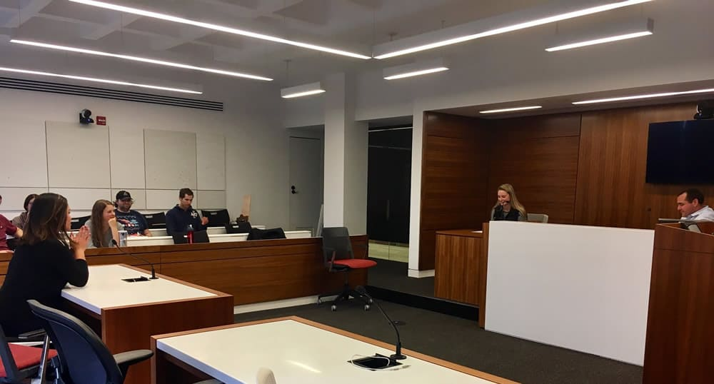 ircsimulation2 Experience, W&L Law: A Week in the Immigrant Rights Clinic