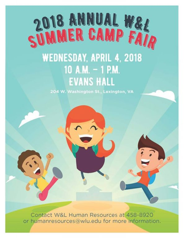 2018-Summer-Camp-Fair W&L to Host Annual Summer Camp Fair