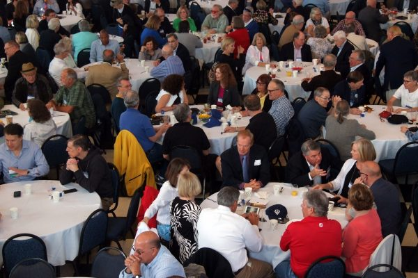 SOC050318_023-600x400 Reunions 2018: Saturday breakfast in Evans Hall. Photo by Patrick Hinely '73