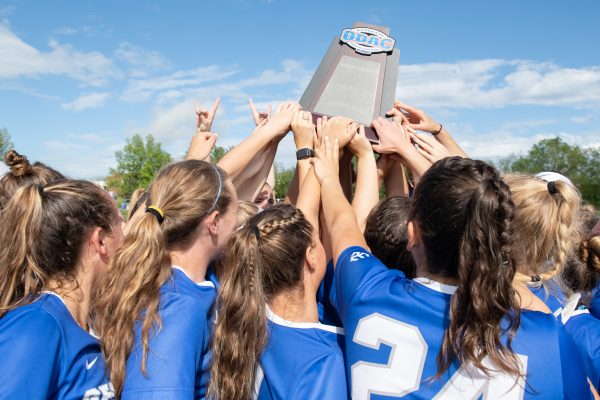 SOC051818_065-600x400 Women's lacrosse wins the ODAC after defeating Randolph-Macon, 14-7.