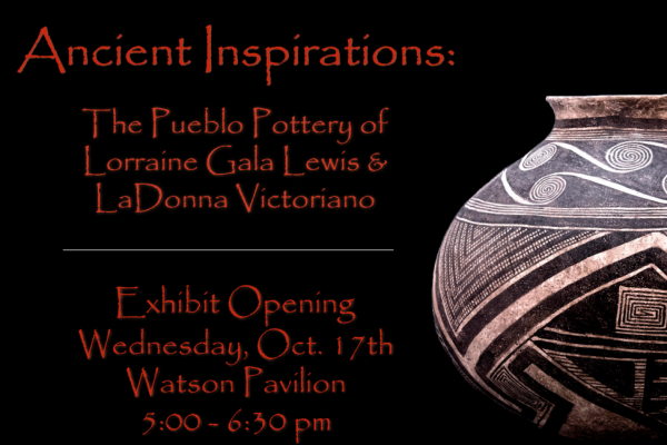 Ancient-Inspirations-2-e1538489471372-600x400 UCAH Presents 'Ancient Inspirations: The Pueblo Pottery of Lorraine Gala Lewis and LaDonna Victoriano'