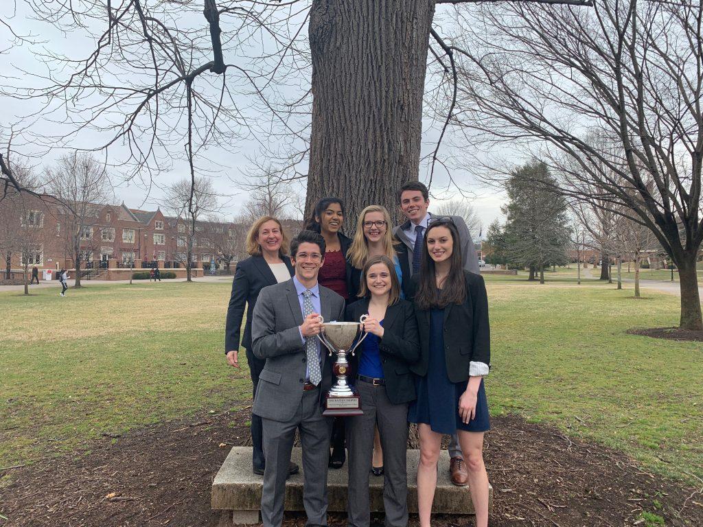 Ethics-Pic1 Washington and Lee Team Wins 20th-Annual VFIC Ethics Bowl