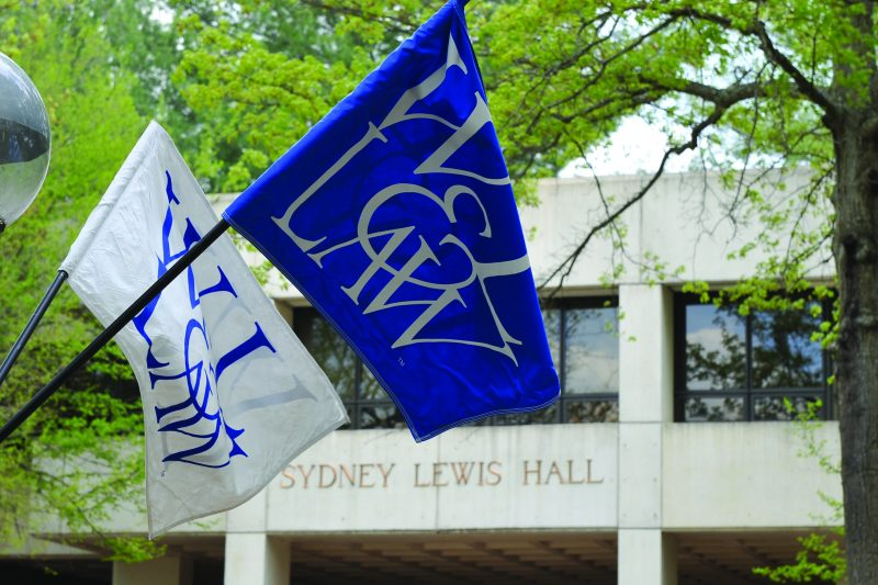 Law-school-w-flags-800x533 W&L Law to Hold Online Conferral of Degrees Ceremony Friday, May 8