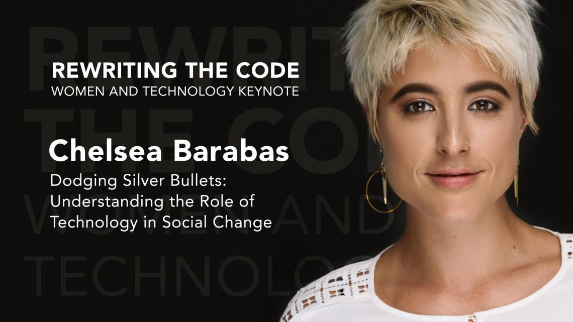 chelsea-barabas Rewriting the Code: Women and Technology Initiative at W&L Hosts Two-Day Public Forum