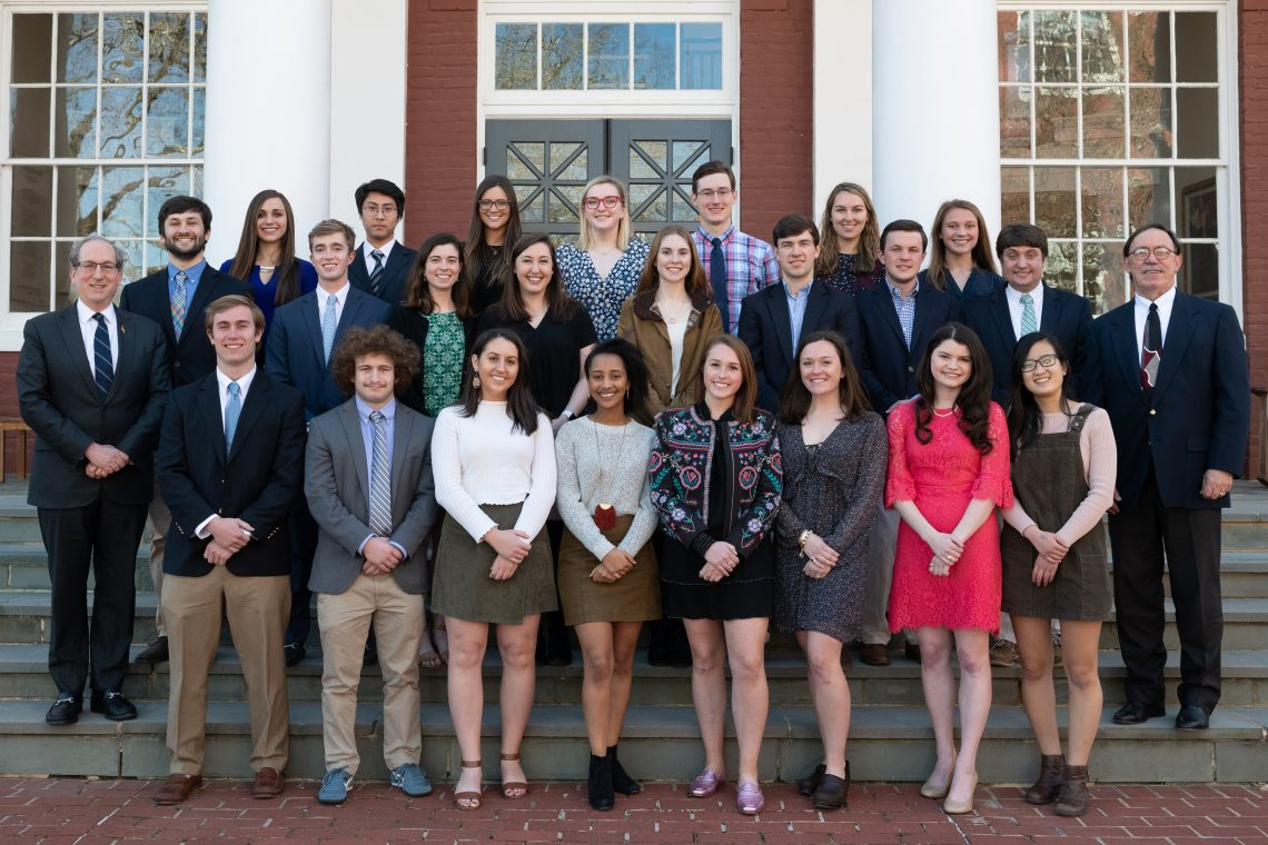 2019-Phi-Beta-Kappa-1140x760 Phi Beta Kappa Initiates New Members during 2019 Convocation