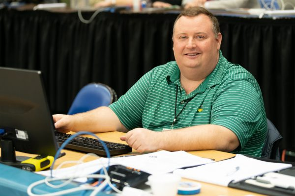 Brian-600x400 W&L's Laubscher Recognized for 25 Years of Service by CoSIDA