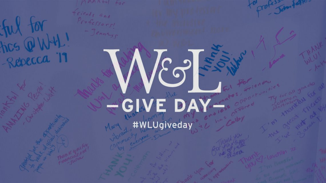 The Columns Give Day 2019 Thank You Washington And Lee University