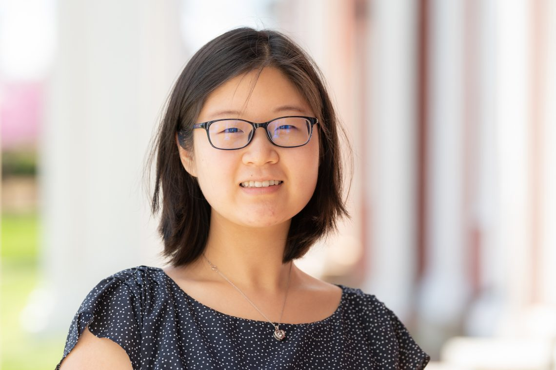 Unknown-2-1 W&L's Xinxian Wang '21 Awarded Davis Projects for Peace Grant