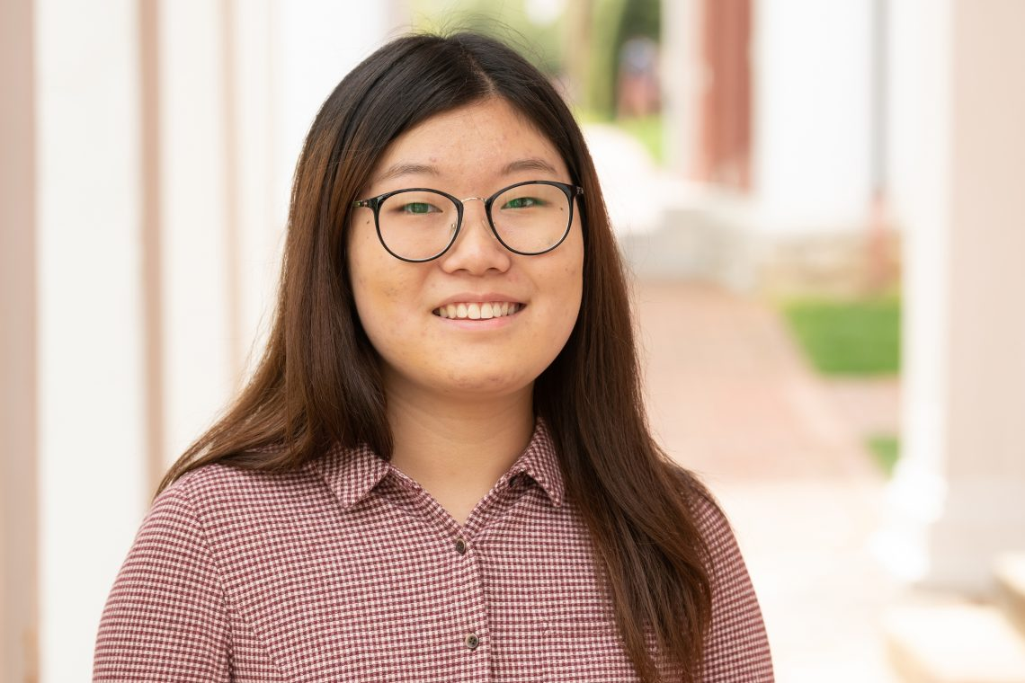 Tina-Jin Tina Jin '21 Participates in German American Exchange Internship