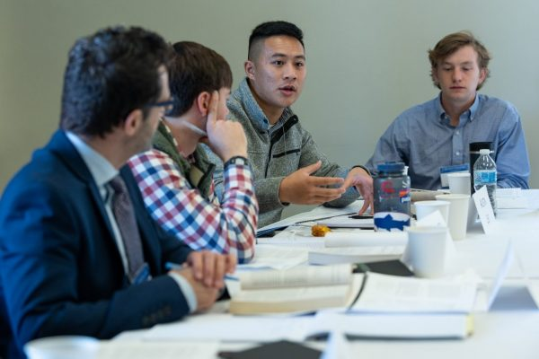 "1-scaled-600x400 Blunch Hosts ""The Economics of Foreign Aid"" IHS Colloquium at W&L"