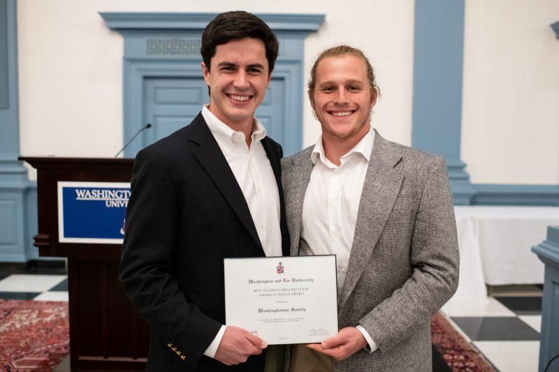 leadwash-800x533 W&L LEAD Banquet Award Nominations Recognize Student Leadership