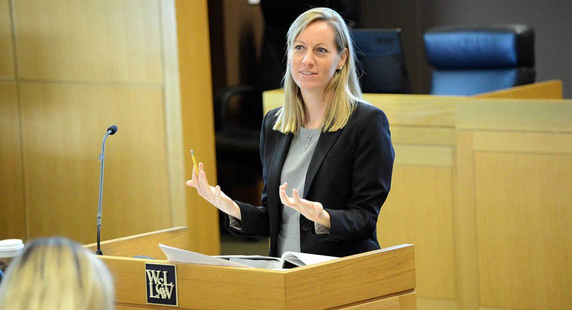 karenwoodyfeature W&L Law's Karen Woody Named a Herndon Fellow