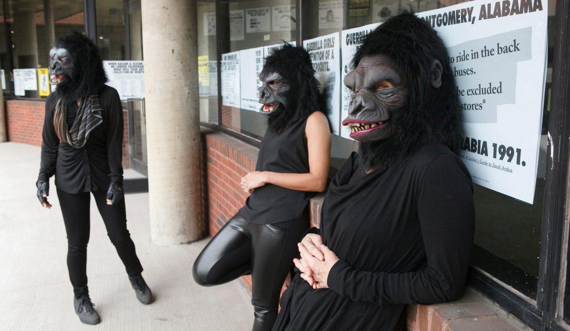 Guerrilla-Girls W&L's Staniar Gallery Presents 'Guerrilla Girls: The Art of Behaving Badly'