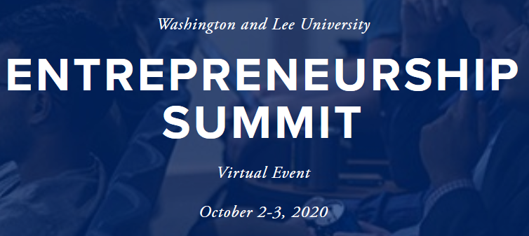 Screenshot_2020-09-28-W-L-Entrepreneurship-Summit Washington and Lee Hosts 9th Annual Entrepreneurship Summit in Virtual Format