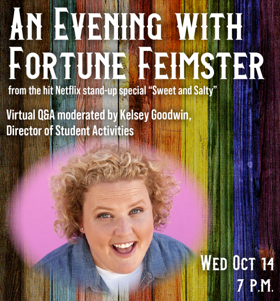 Fortune-e1602614804706 W&L Presents an Evening with Comedian Fortune Feimster