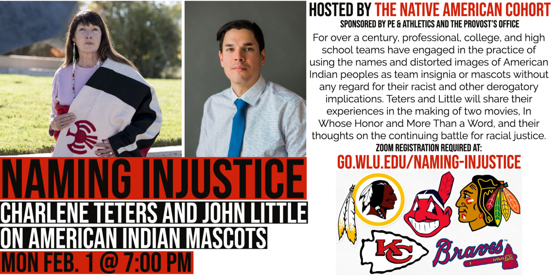 Naming-Injustice-Feb-1-@-7pm W&L's Native American Cohort Starts Semester With Panel Discussion