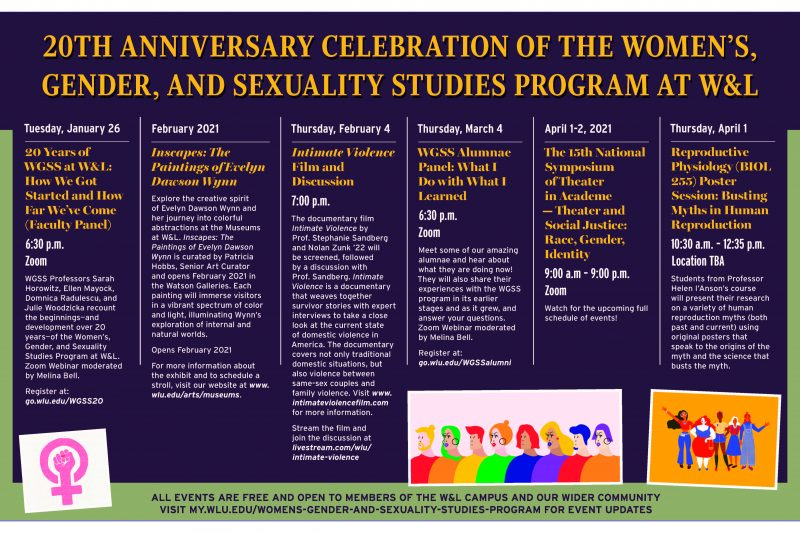 WGSS-20-Anniversary-WL-Program-2021-800x533 Women's, Gender, and Sexuality Studies Program Celebrates 20 Years
