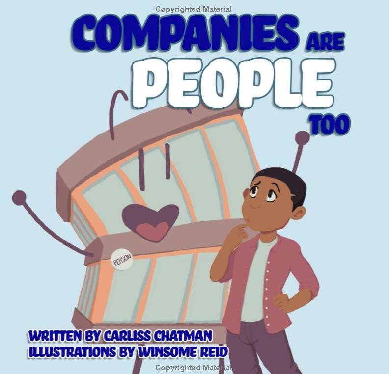 carliss-book-cover W&L Law Professor Publishes Children's Book on Corporate Personhood