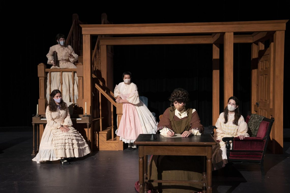 DSC883664-1140x761 This Year's Bentley Musical is 'Little Women: The Broadway Musical'