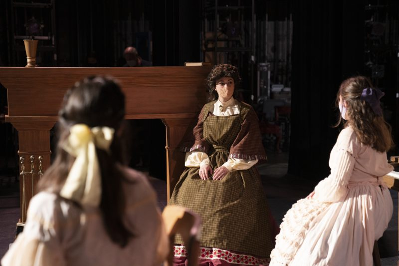 littlewomen2-800x533 The Show Must Go On Camera