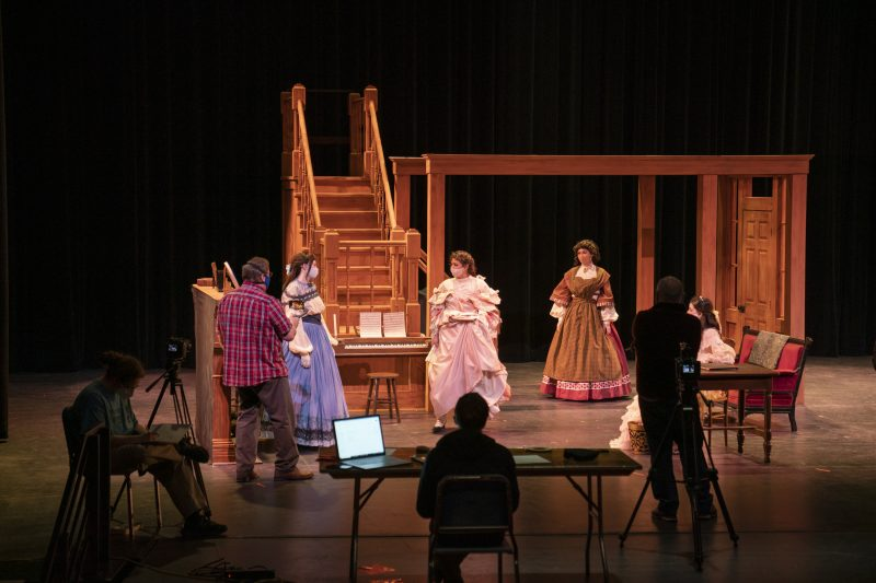 littlewomen5-800x533 The Show Must Go On Camera