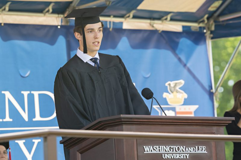 KRR5967-800x533 Washington and Lee Graduates 444 Students at 234th Commencement