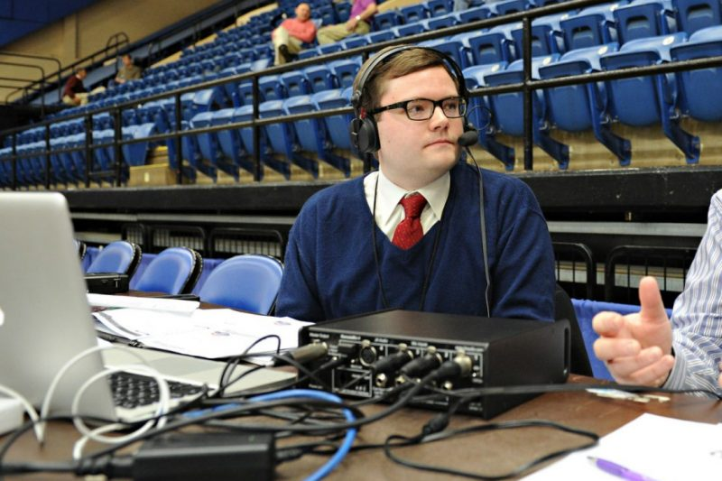 SOC022813_05-800x533 Jeremy Franklin Ends His Run as Voice of W&L Athletics